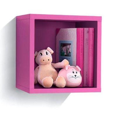 Cubo pensile libreria da cameretta per i tuoi ragazzi, idea semplice ...