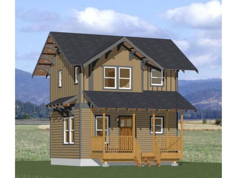 20x16 House 1Bedroom 1.5Bath 547 sq ft PDF Floor Etsy
