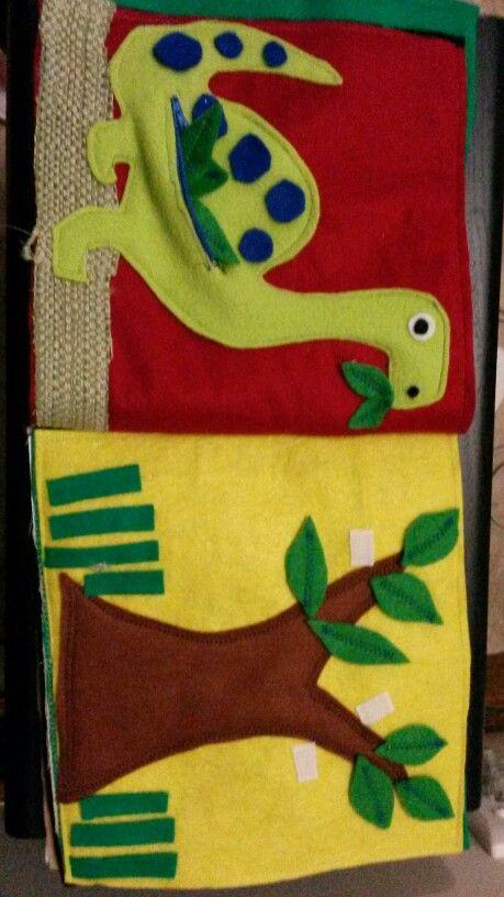 Dinosaur quiet book