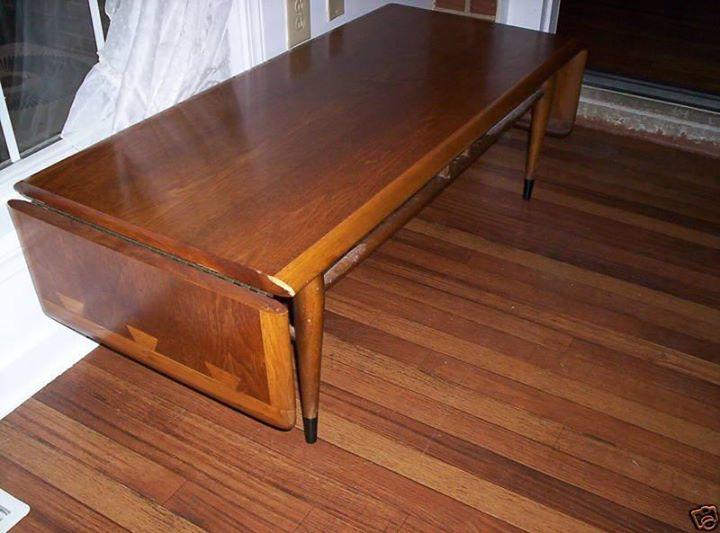 Lane Acclaim Drop Leaf Console Table Mid Century Furniture