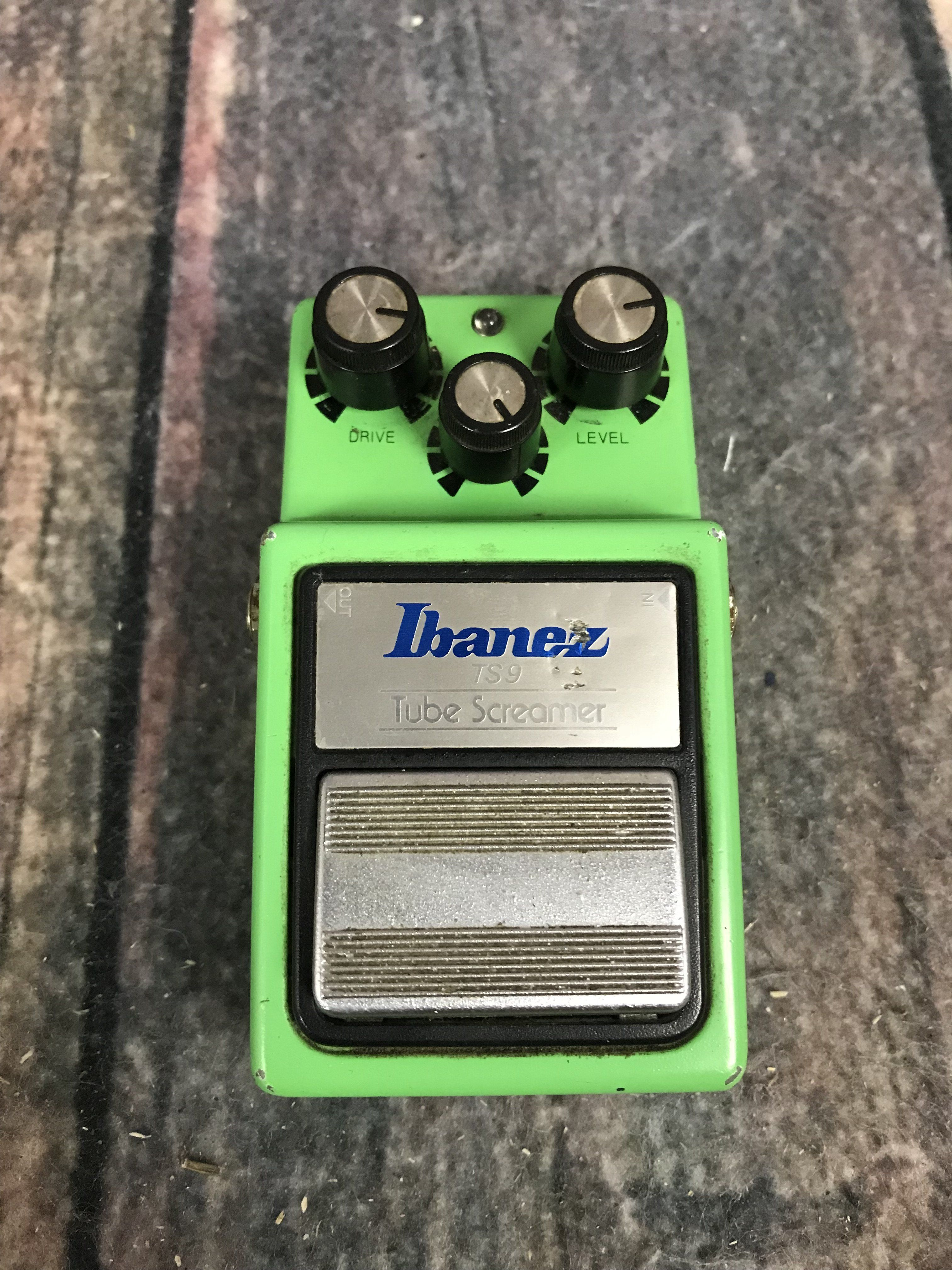 Used Ibanez TS9 Tube Screamer Pedal | Products | Ibanez