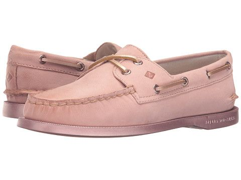 17350f1ad0a8 Sperry Top-Sider A O 2-Eye Bling Rose Gold - Zappos.com Free Shipping BOTH  Ways