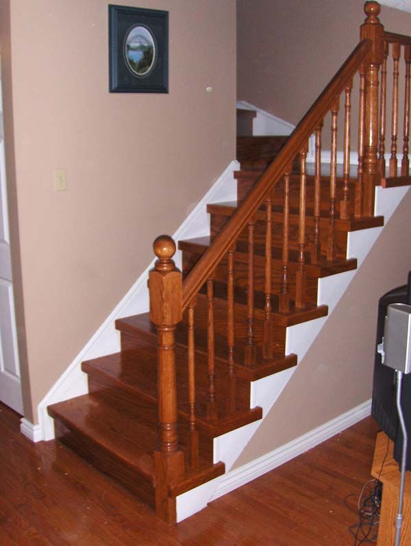 How To Wood Stair Railing Basement   Http://memdream.com/wp