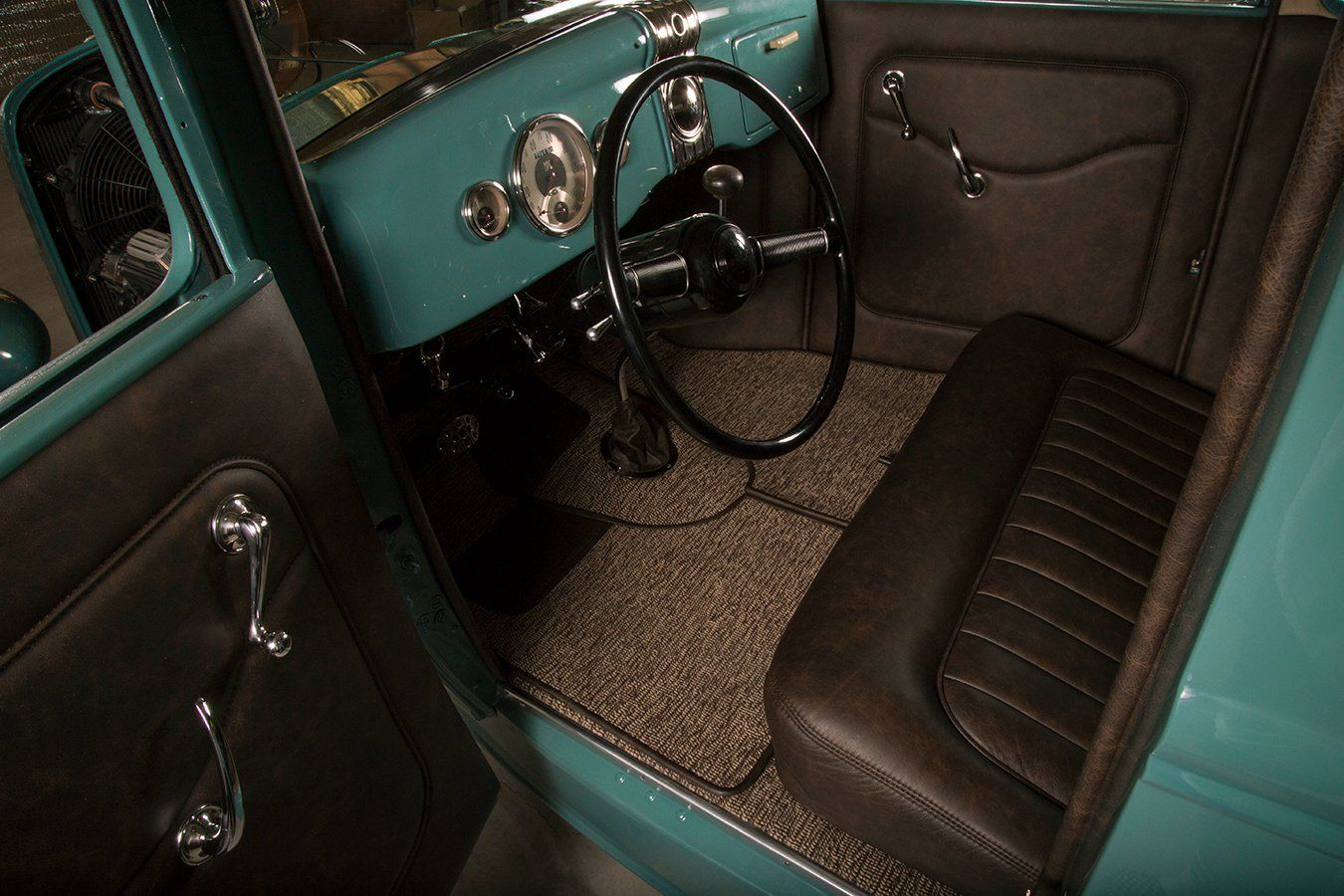 Bw Upholstery 1931 Ford Custom Car Interior Upholstery Ford
