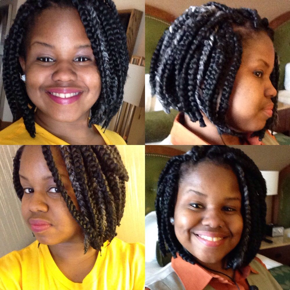 Beautiful box braids bob | Hairstyles | Pinterest | Box braids bob ...
