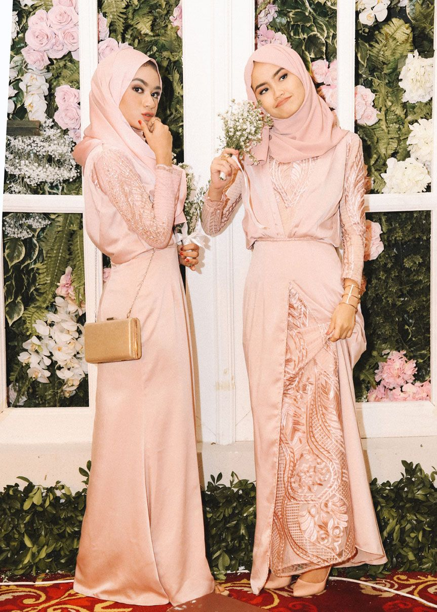 Firaa Assagaf Bridesmaids Hijab Muslimah S Wear Di 2019 Baju
