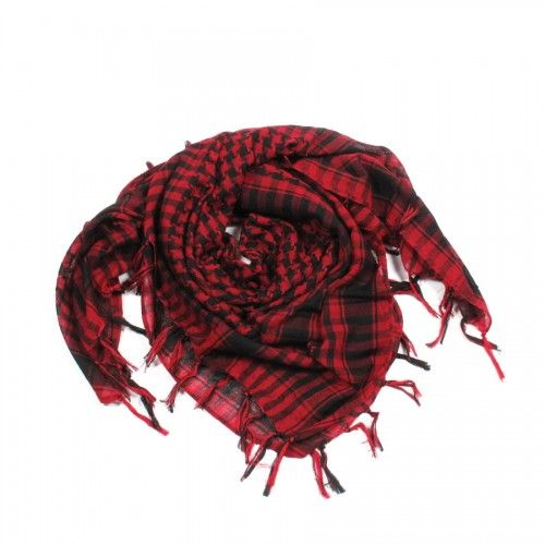 http://www.artfire.com/ext/shop/studio/bohemiantouch/1/1/10311//  Red and Black Plaid, scarf with fringed tassel ends is a great addition to your collection of fashion accessories. Perfect for spring to fall.