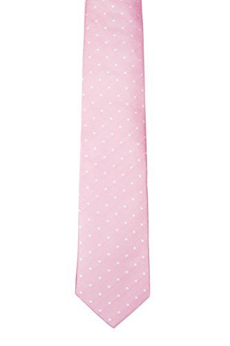 Necktie - Woven Jacquard silk in solid dusty pink Notch X4PgEqqhFx