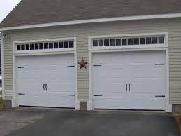 Windows Above Garage Door Front Running Choice Doors With Handles