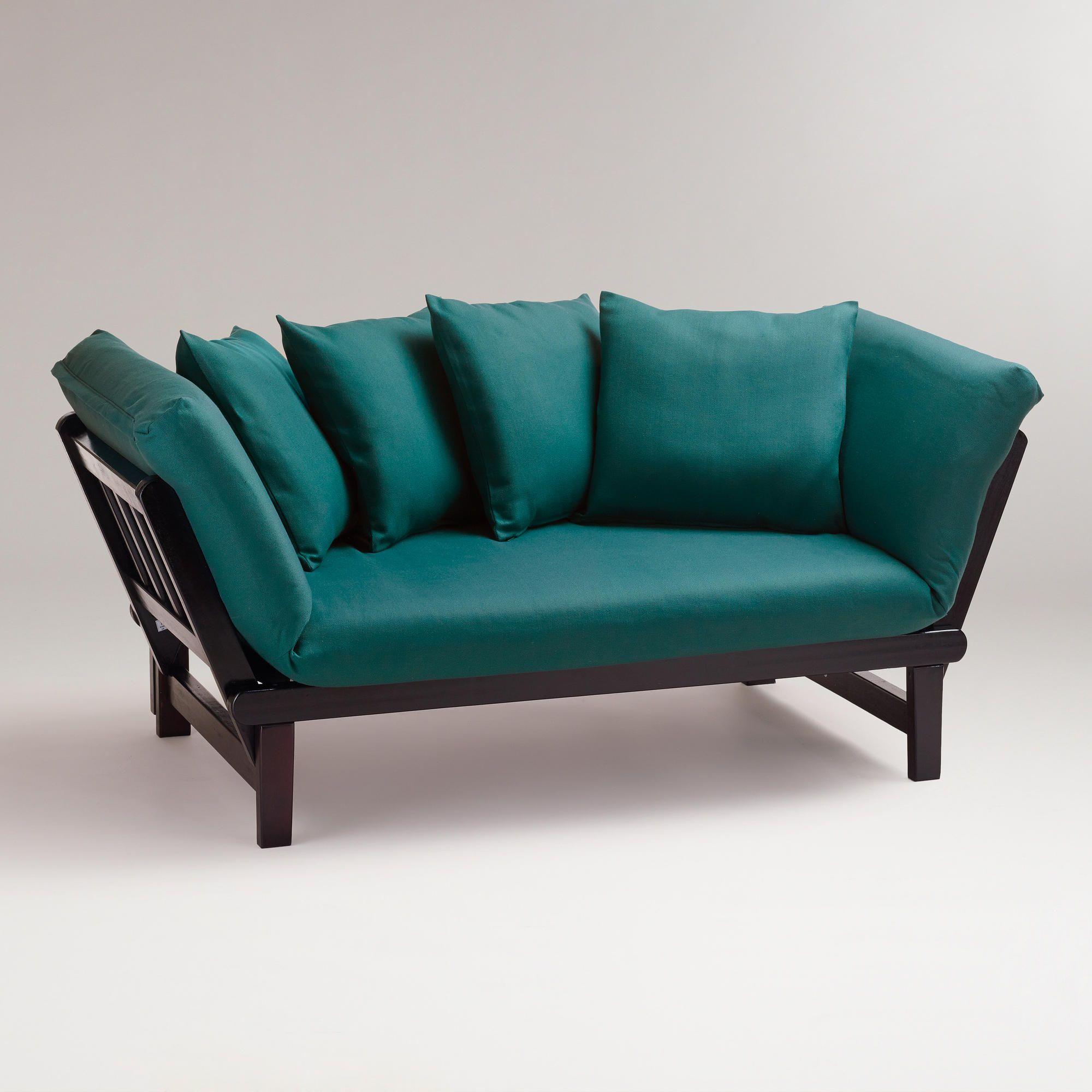 Cost Plus World Market Studio Day Sofa $320 ❤ liked on P