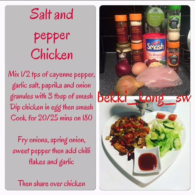 Salt and pepper chicken slimming world fakeaway slimming world recipes pinterest pepper New slimming world plan