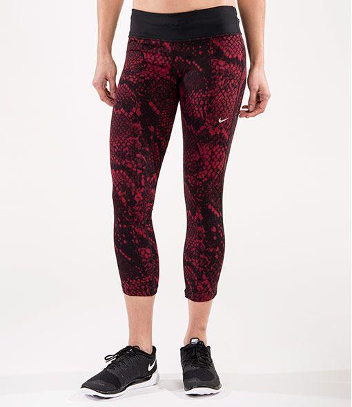 Women's Nike Dri-FIT Epic Lux Crop Running Tights ...