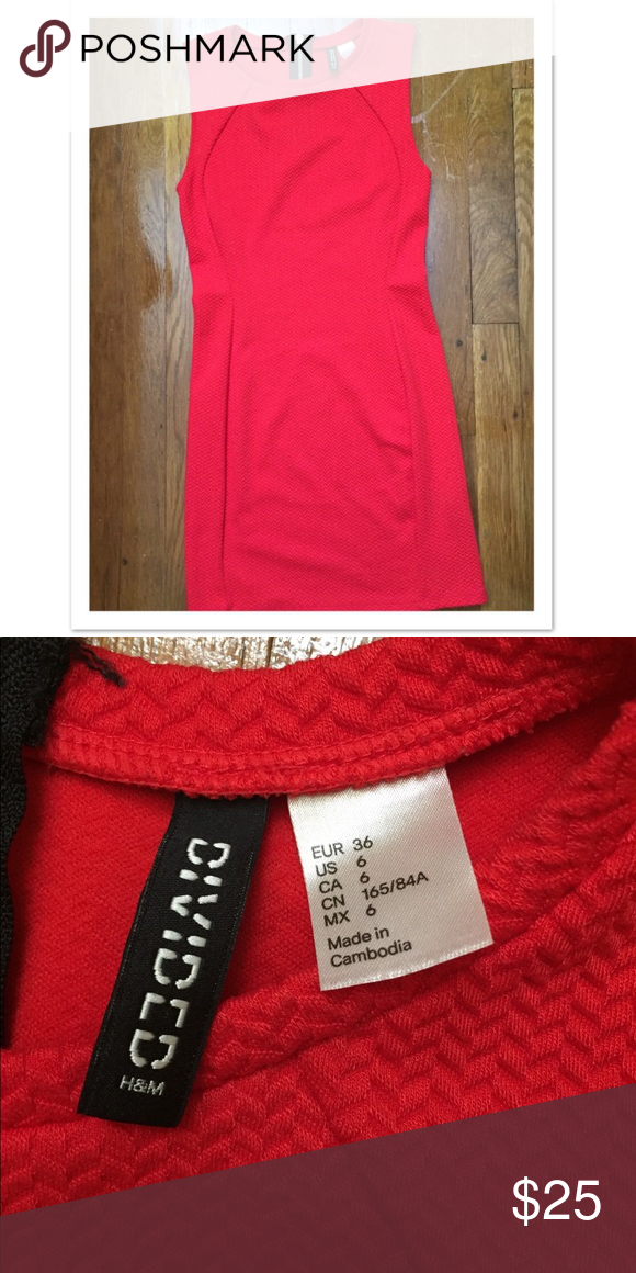 7f0be8d9d0 H M red dress H M red dress mini  excellent condition Divided Dresses Mini