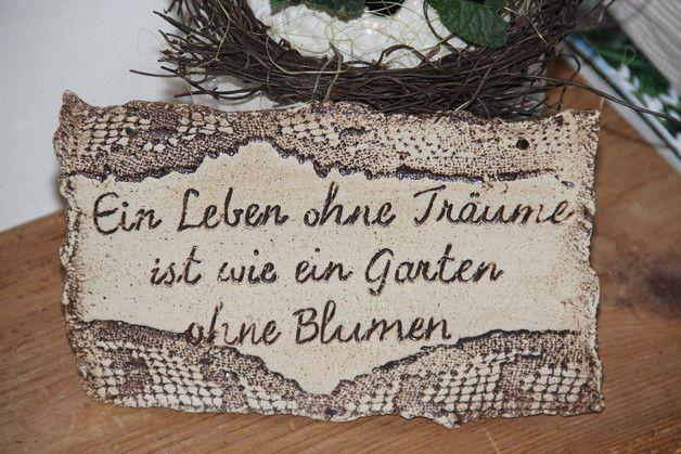 Photo of … zum aufhängen * frostfest gebrannt LxB: 21 x 17 cm