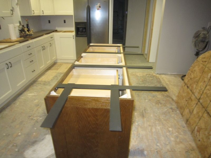 Island Support System Countertop Support Island Countertops