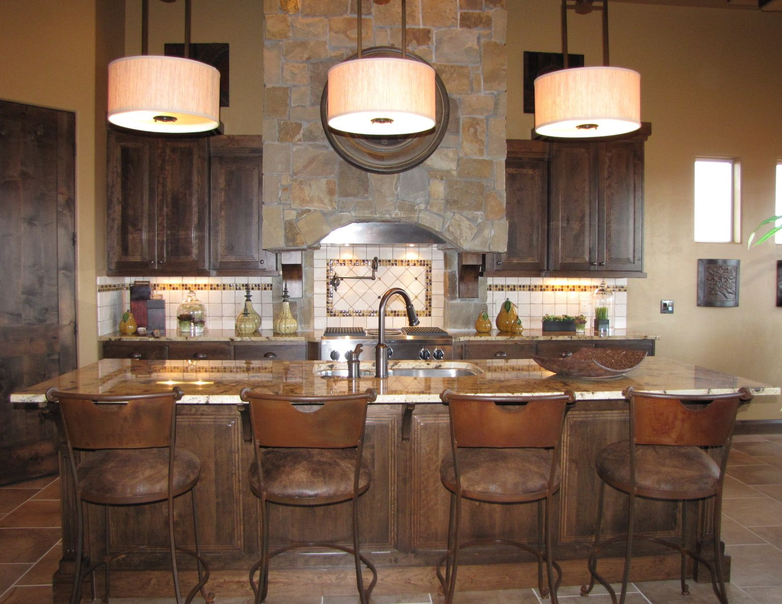 Pin By Venuti Woodworking On Rustic Southwest Kitchen Design