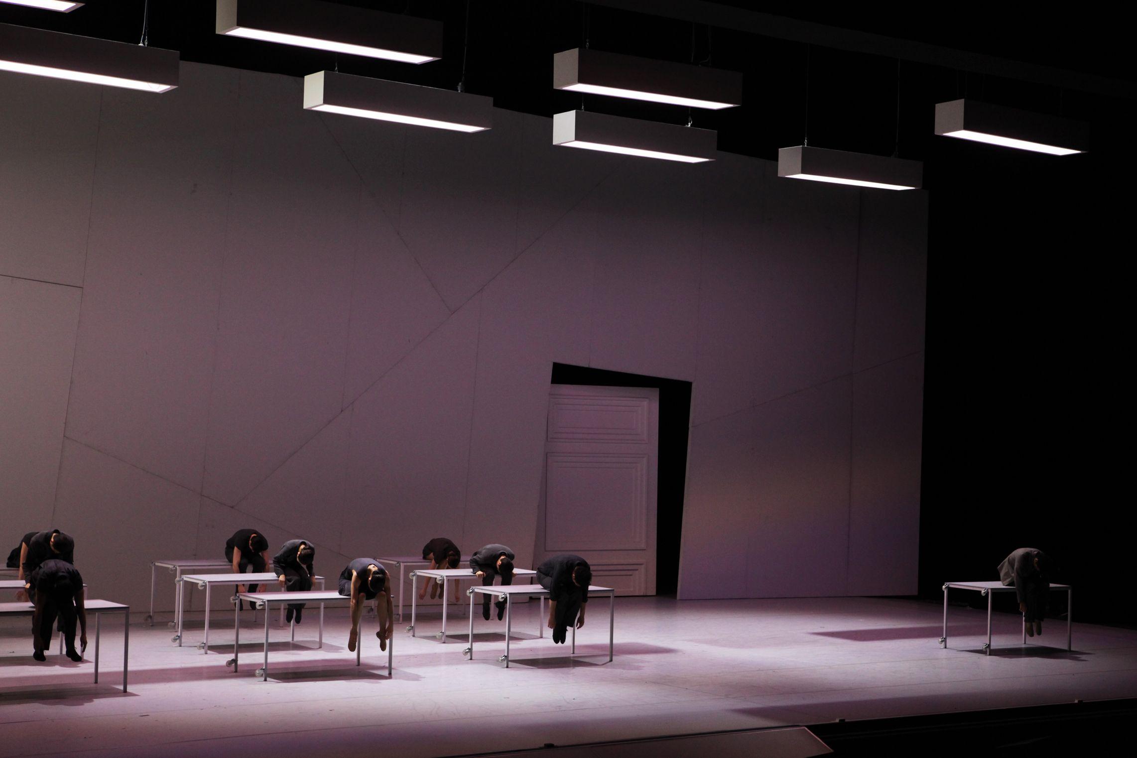 Stagedesign for momo a ballet for staatsballett karlsruhe for Design karlsruhe