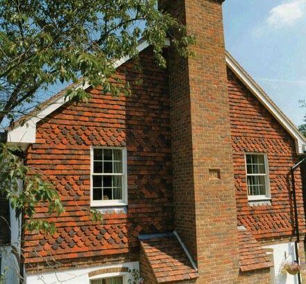 Decorative Roof Tiles Decorative Tile Hanging  Exterior Paint Colors  Pinterest