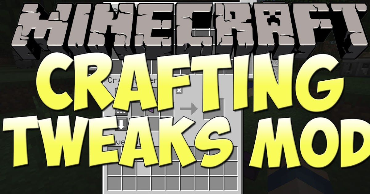 Crafting Tweaks Mod 1 12 2/1 11 2 allows you to rotate or