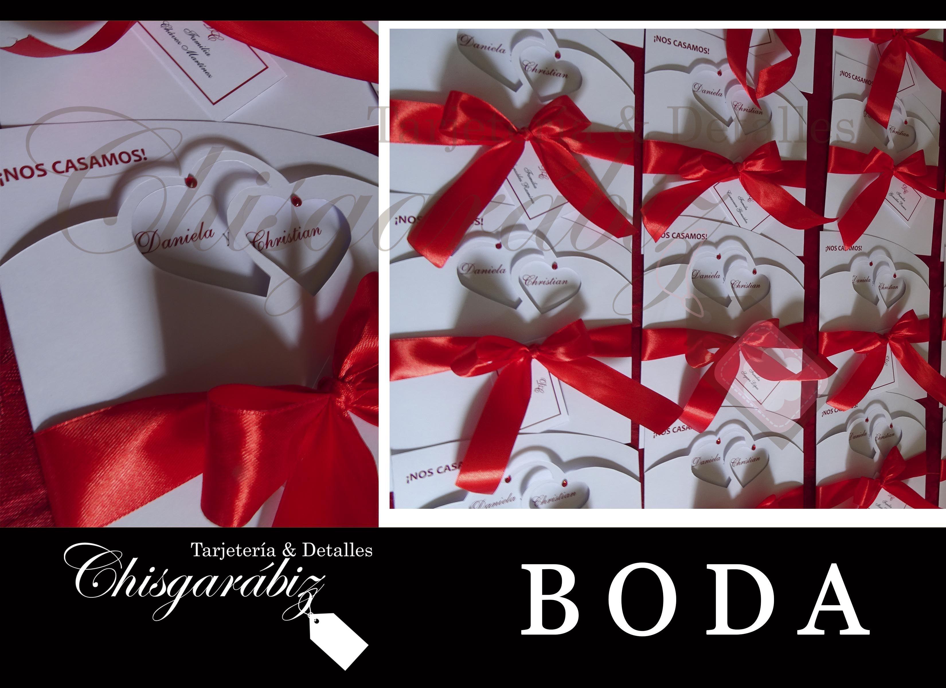 Invitación y todo lo que necesitas para Boda esta en Chisgarábiz, ubicado en san josé COSTA RICA, tel 2235-8132 / chisgarabiz@gmail.com.