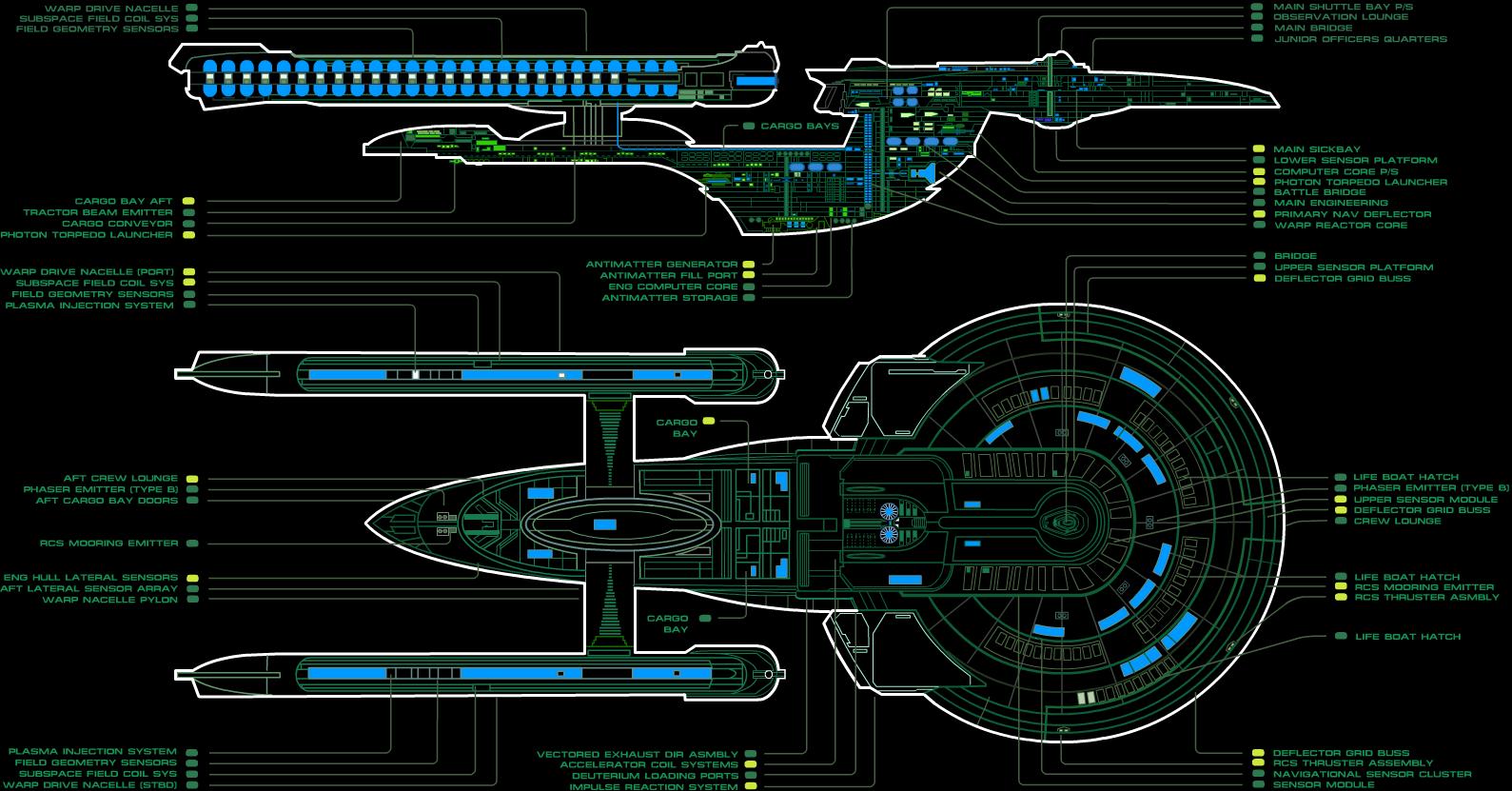 USS Enterprise NCC-1701-B MSD | Uss enterprise ncc 1701, Uss enterprise,  Enterprise ncc 1701