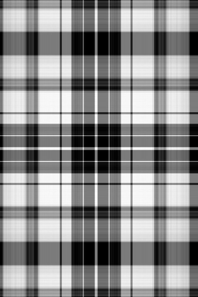 Black and white plaid wallpaper/lock screen/background
