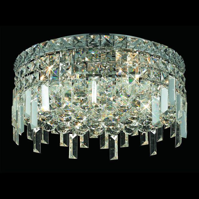 """Elegant 2031F16C-RC Maxim Medium 16"""" Crystal Home Ceiling Lighting - ELE-2031F16C-RC"""