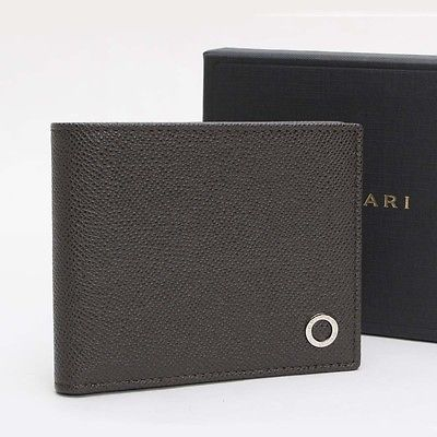d95aa1e1cbbbaa Authentic BVLGARI Bvlgari Bvlgari Bifold Wallet Leather 280309 10098699