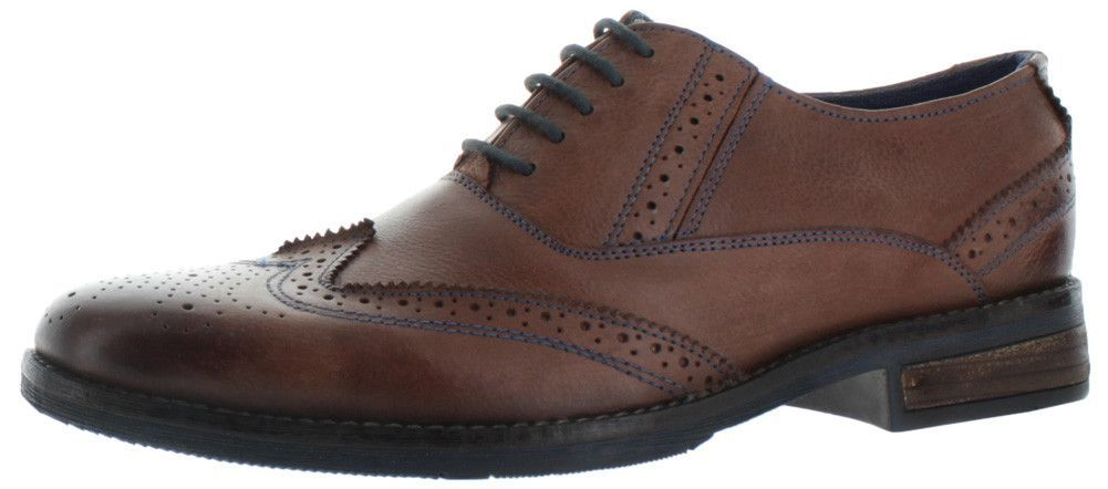 1ffba6fa03c Steve Madden Virgo Men's Brogue Wingtip Oxford Dress Shoes | Trenton ...
