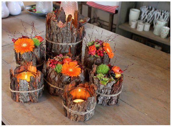 Die schönsten Herbstdekorationen mit allem, was die Natur jetzt bietet! Lass Di #fallnature