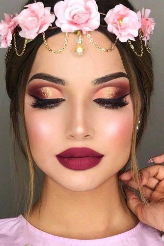 37 Attractive Dramatic Make-ups Makes You Look like Goddess