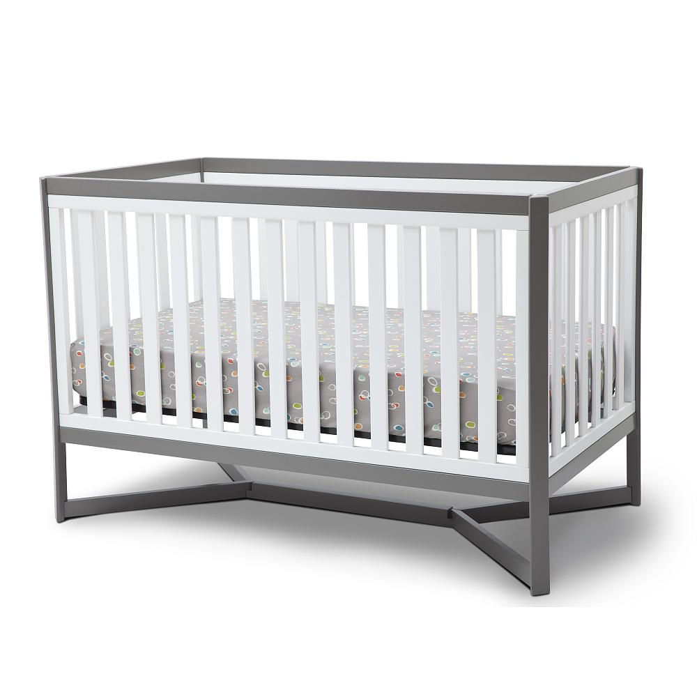 cribs gliders baby larger images crib l cribsmodern modern buy view low grey painted