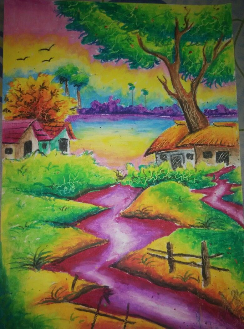 Art Colorful Drawing