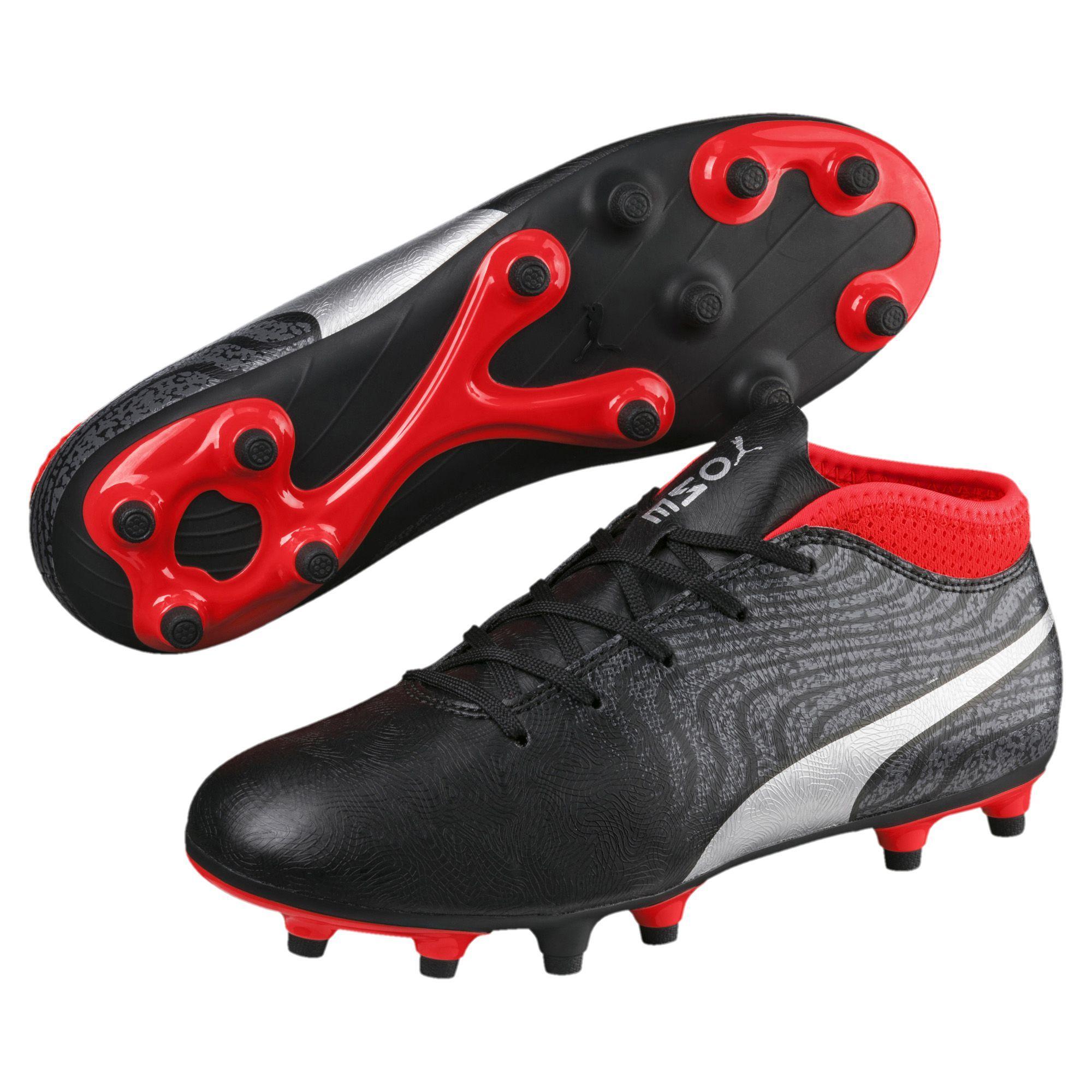 a4940ba9df6  29.99 PUMA ONE 18.4 FG Kids  Soccer Cleats Boys Low Boot Football New Kids  Soccer