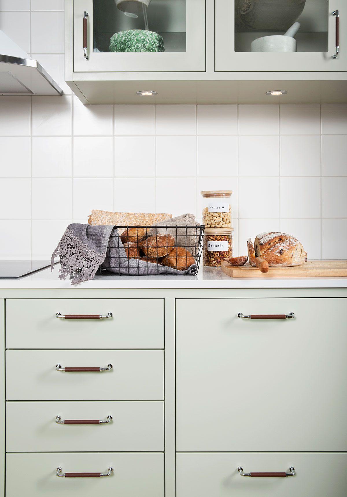 Esstisch ideen einrichten letar du efter ett klassiskt slätt kök i lindblomsgrönt då ska du