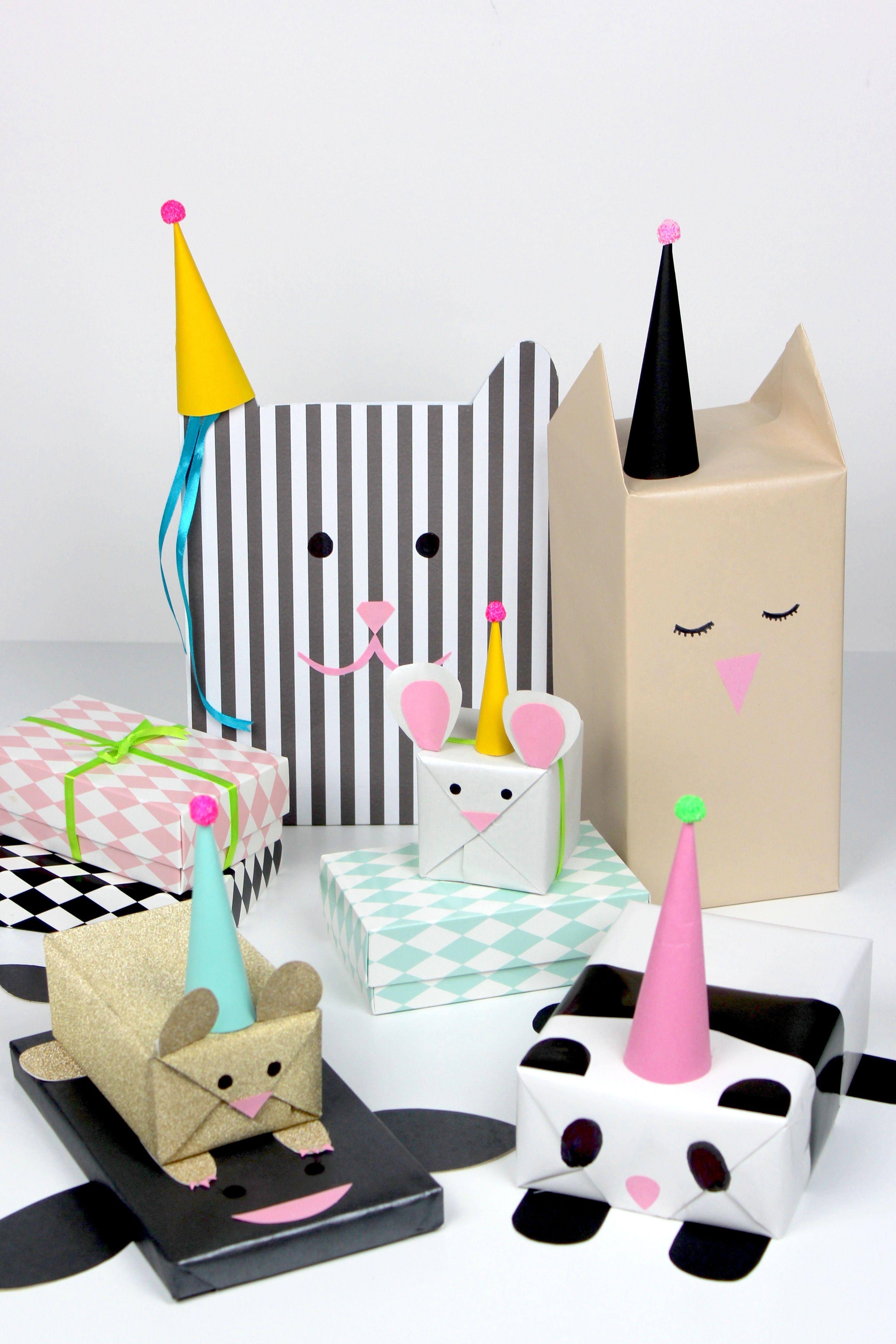 Geschenke Verpacken Als Susse Tiere Die Perfekte Idee Fur Den
