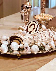 French Buche de Noel