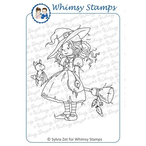 Hazel rubber stamp from Wee Stamps for Whimsy available from Little ...