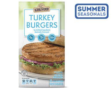 Aldi Us Kirkwood Turkey Burgers Turkey Turkey Burgers Kirkwood