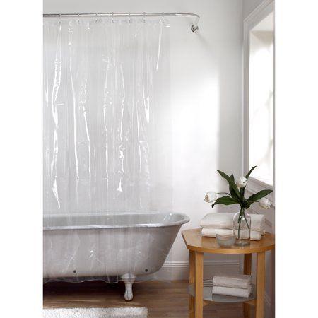 Maytex Heavyweight 8 Gauge Eva Shower Curtain Liner Size 70 Inch
