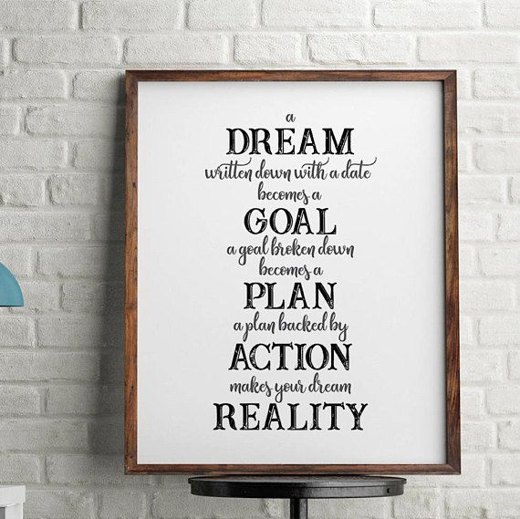 Motivational Wall Decorteen Wall Artboys Bedroomdorm Decorquote