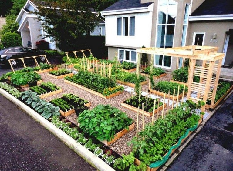 45 Wonderful Modern Front Yard Landscaping Ideas Front Yard