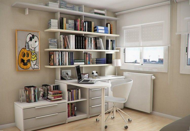 Schreibtisch Und Regalsystem Für Kleines Kinderzimmer