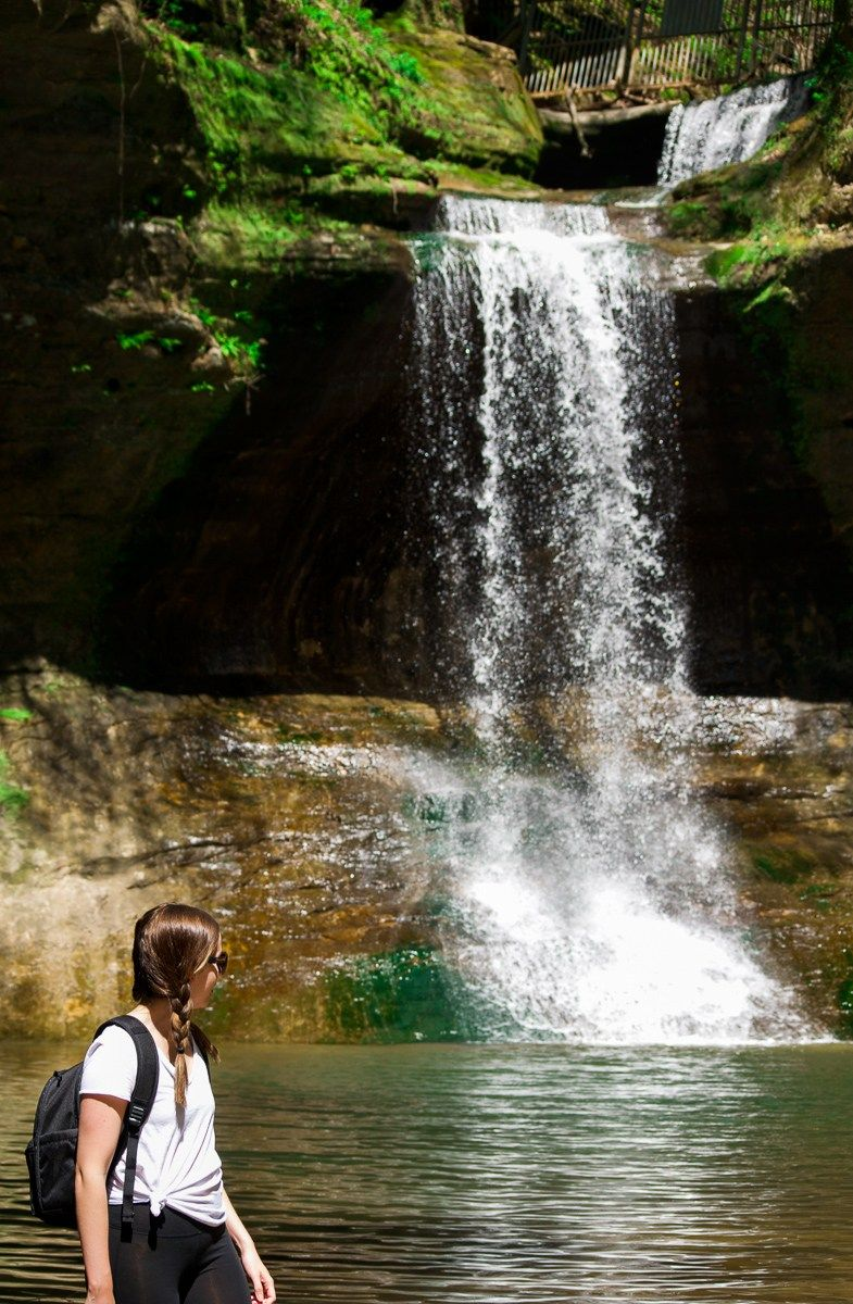 The Wishing Well Cascade Falls In Matthiessen State Park Illinois One Of Best Parks Around
