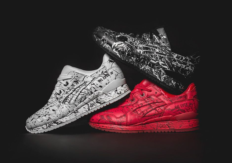 Asics Gel Lyte Iii Marble Injection Pack Sneakernews Com Asics Gel Lyte Iii Sneakers Asics Gel Lyte