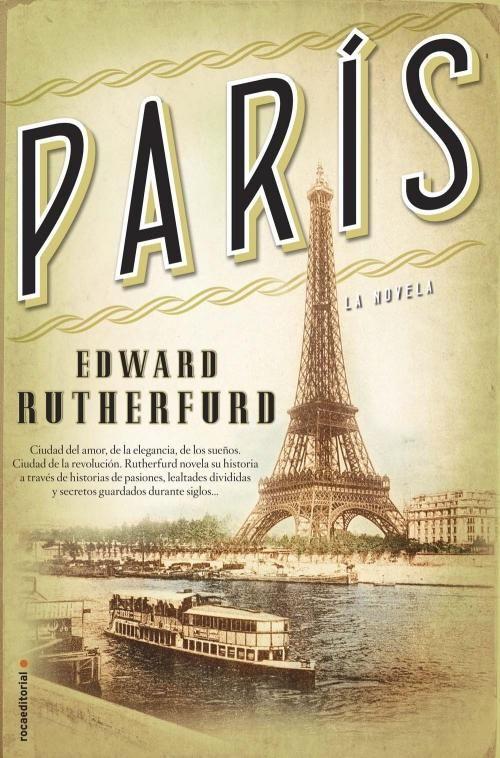 París, de Edward Rutherfurd, autor de otras novelas de narrativa histórica como Nueva York o Londres, es una impresionante novela sobre París, ciudad del amor, de la elegancia, de los sueños, ciudad de la revolución. En todas sus novelas Rutherfurd nos ofrece una rica panorámica de las ciudades más atractivas del mundo.  http://www.culturamas.es/blog/2013/10/18/paris-la-novela-de-edward-rutherfurd/ http://rabel.jcyl.es/cgi-bin/abnetopac?SUBC=BPSO&ACC=DOSEARCH&xsqf99=1726024+