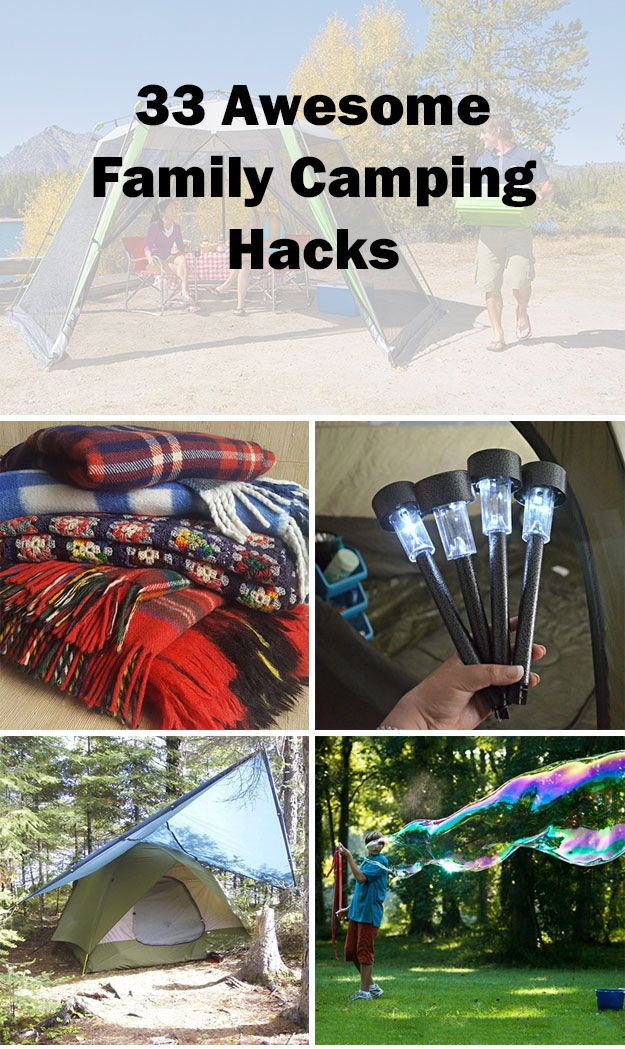 Photo of These family camping hacks are awesome and definitely make your life easier. Num…