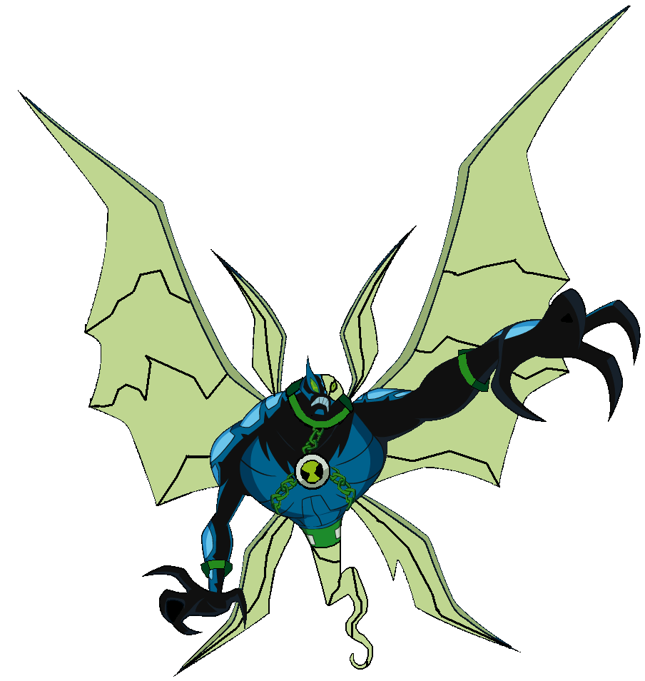 Ben10 Ghostchill Create By Ghostfreak And Bigchill Fusion