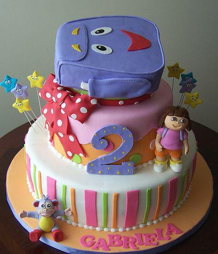 dora the explorer cakes Google Search Kid Kakes Pinterest