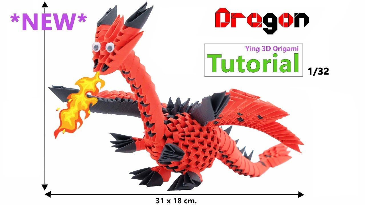Photo of 3D Modular Origami Dragon NEW Tutorial 4K – Origami Modulare 3D Drago Tutorial NUOVO 4K